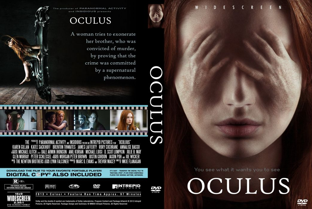 OCULUS horror dark supernatural crime thriller 1ocul psychological poster wallpaper