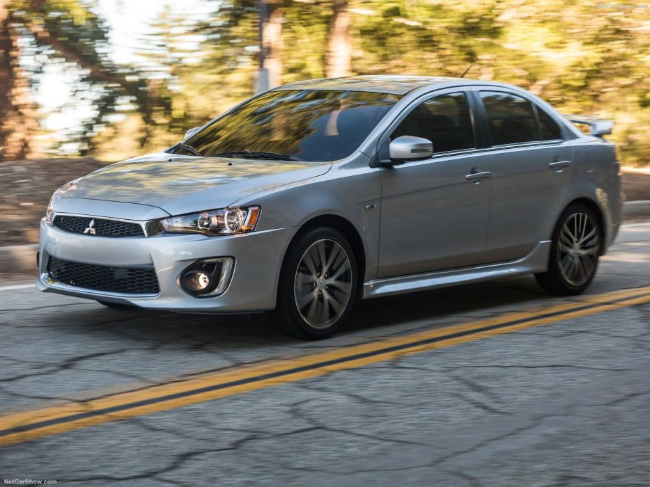 Mitsubishi Lancer GT cars sedan 2016 wallpaper