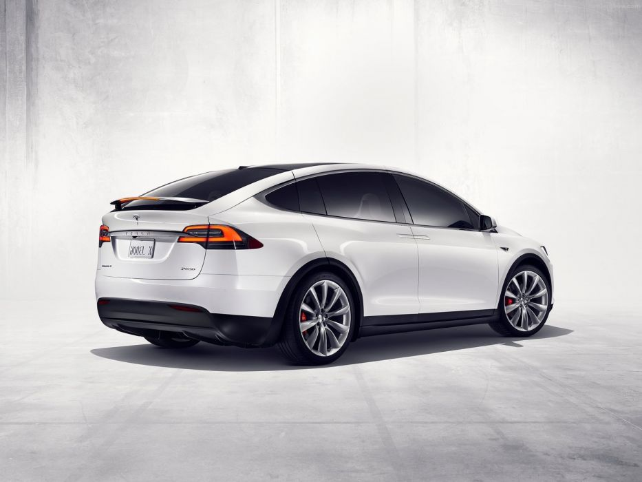 Tesla Model X cars sedan electric 2017 wallpaper