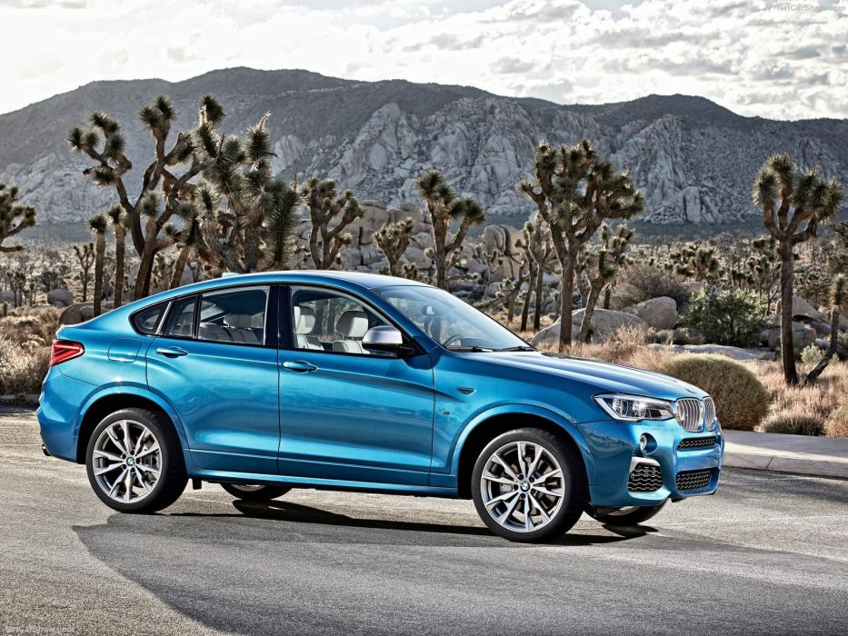 BMW-X4 M40i cars suv blue 2016 wallpaper