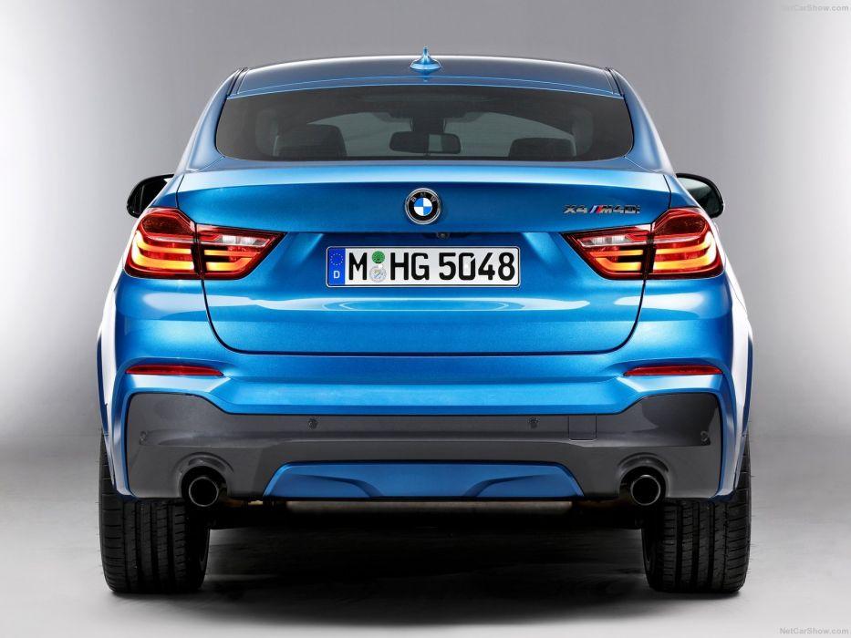 BMW-X4 M40i cars suv blue 2016 wallpaper