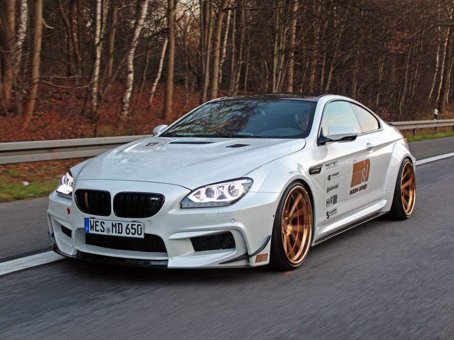 BMW 650i Coupe M&D Exclusive Cardesign (F13) cars modified 2015 wallpaper