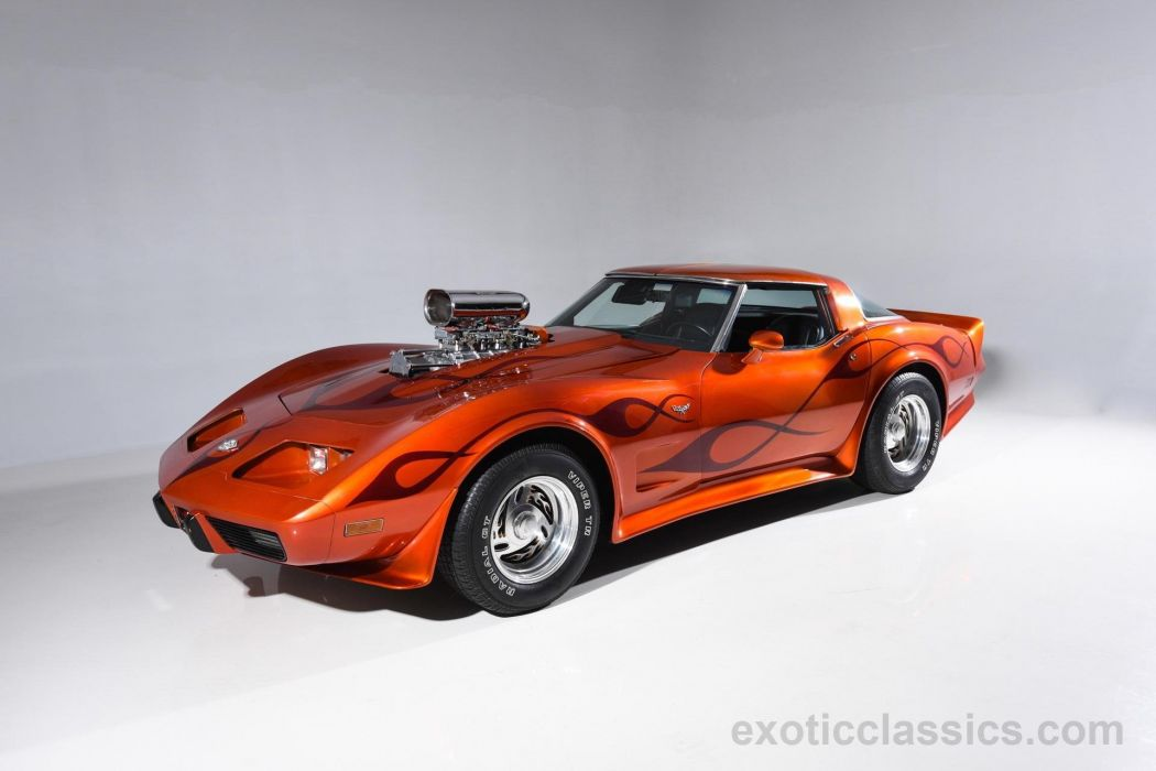 1978 Chevrolet chevy Corvette Stingray coupe cars (c3) wallpaper