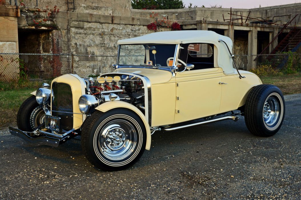 1931 Chevrolet Roadster custom hot rod usa wallpaper