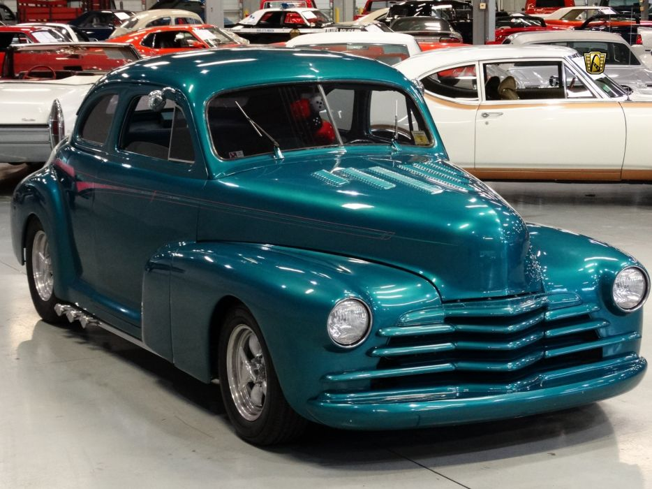 1947 Chevrolet Sedan Deluxe cars custom wallpaper