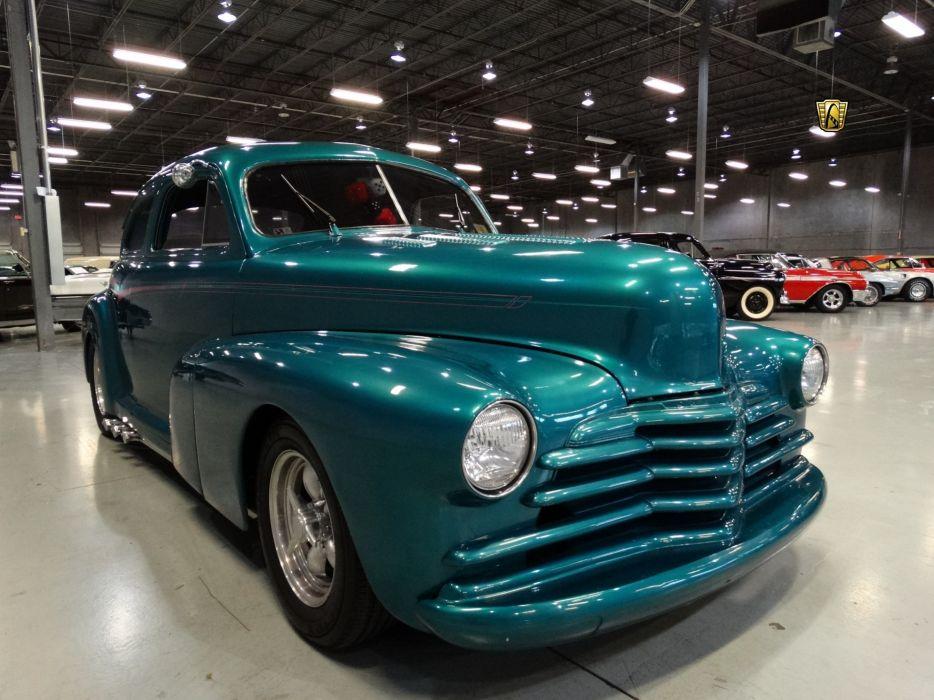 1947 Chevrolet Sedan Deluxe cars custom wallpaper