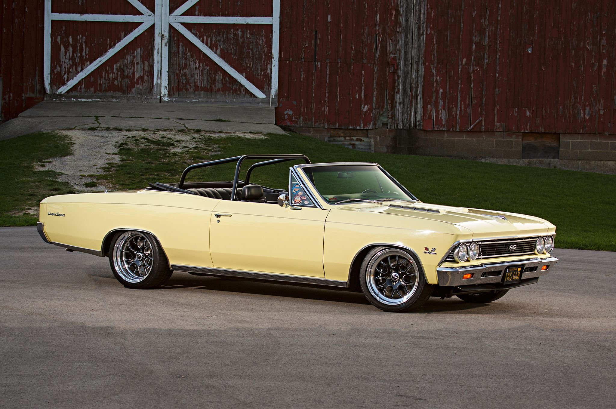 1966 Chevrolet Chevy Chevelle Convertible Super Street Pro Touring Bel Air Conv Low Usa 07 Wallpaper 2048x1360 812860 Wallpaperup