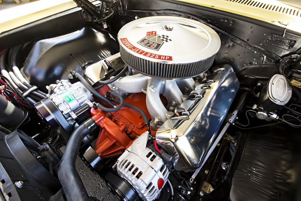 1966 Chevrolet Chevy Chevelle Convertible Super Street Pro Touring Low USA -14 wallpaper