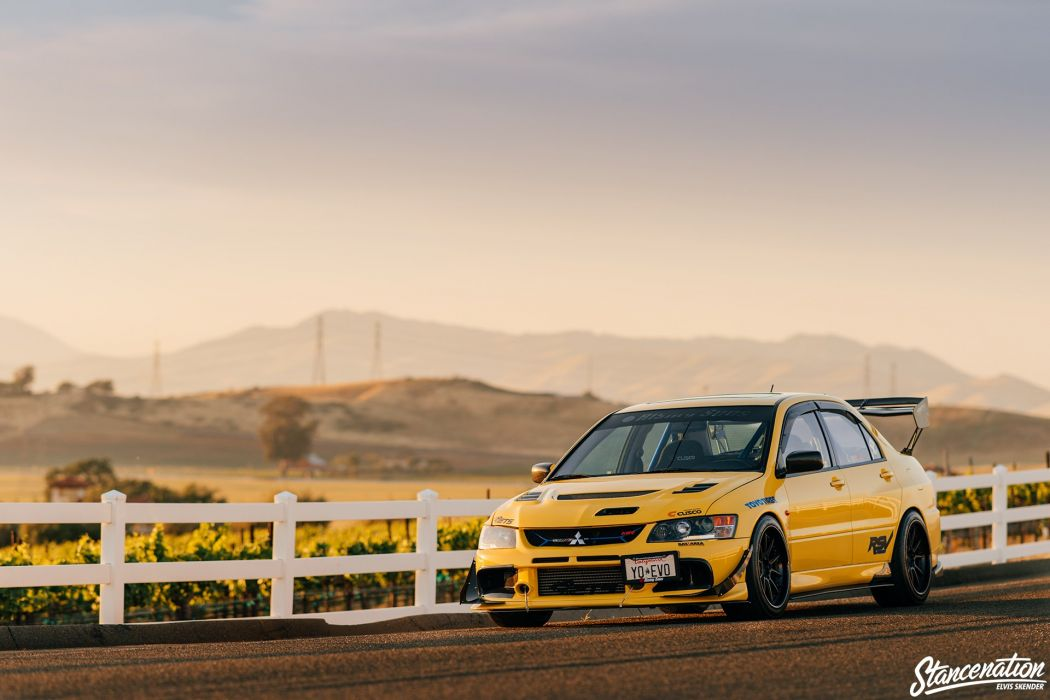 Mitsubishi lancer evo VIII cars sedan modified wallpaper