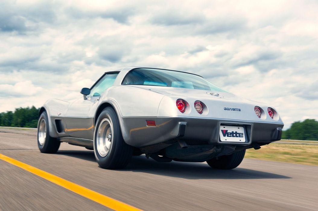 1978 Chevrolet Corvette L88 25-Aniversary Silver Muscle Classic Old Original USA -03 wallpaper