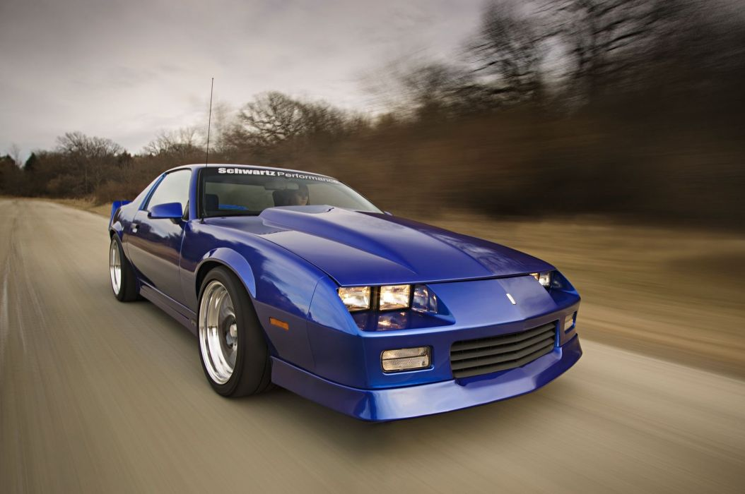 1989 Chevrolet Chevy Camaro RS Supre Street Pro Touring USA -01 wallpaper