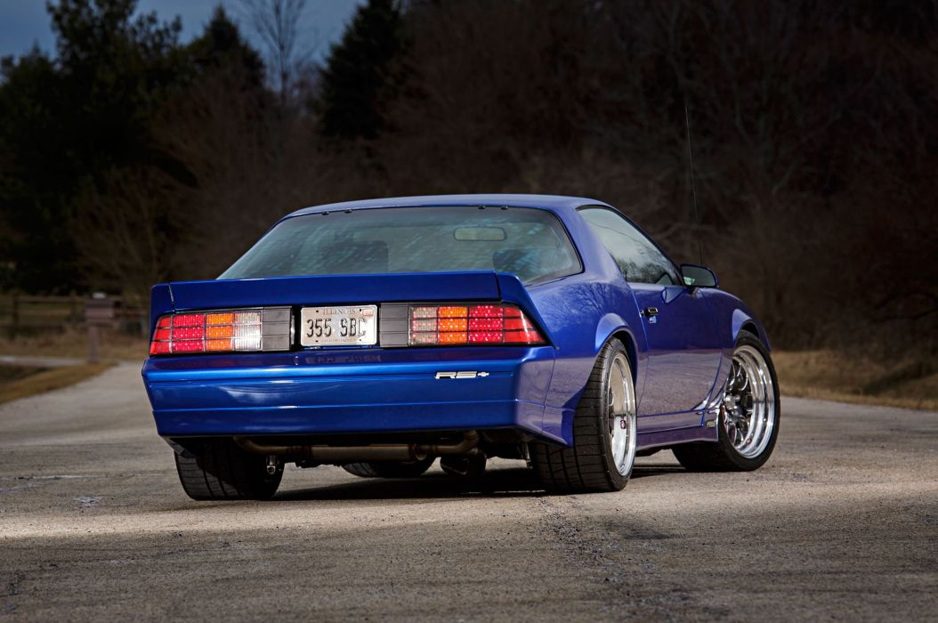 1989 Chevrolet Chevy Camaro RS Supre Street Pro Touring USA -04 wallpaper