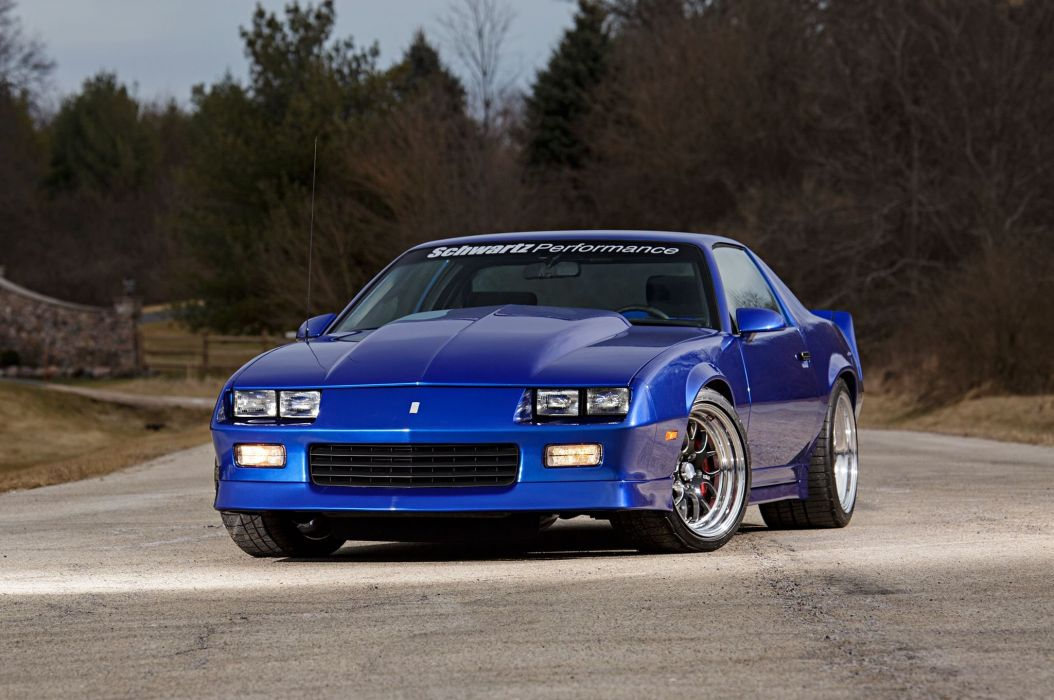 1989 Chevrolet Chevy Camaro RS Supre Street Pro Touring USA -03 wallpaper