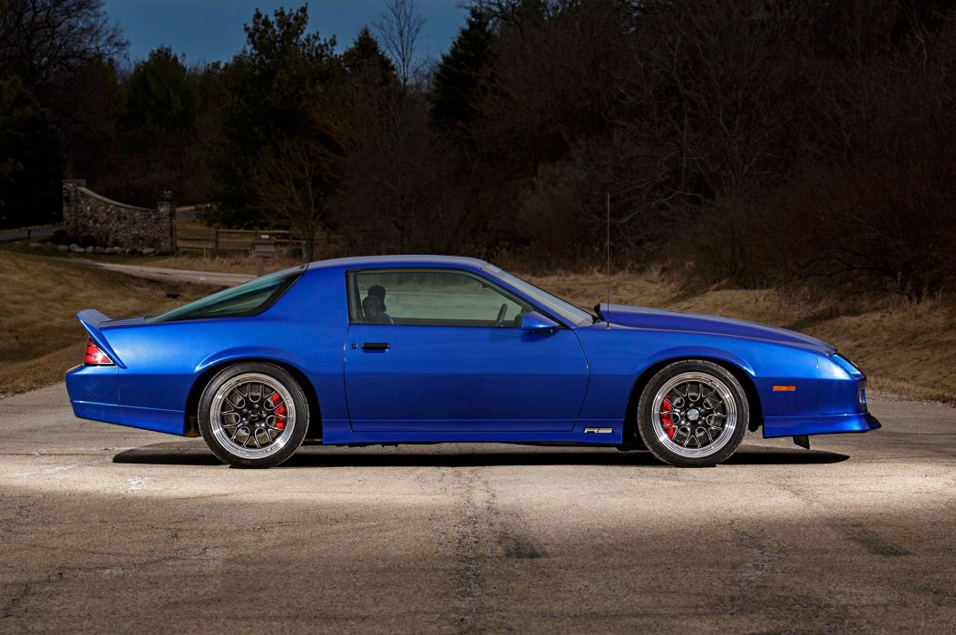 1989 Chevrolet Chevy Camaro RS Supre Street Pro Touring USA -07 wallpaper