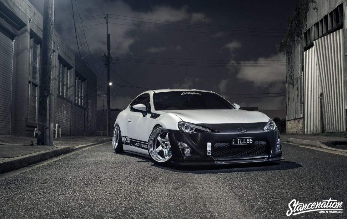 toyota GT86 coupe cars modified wallpaper