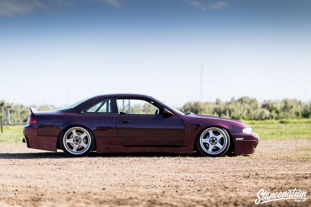 Silvia nissan s14 coupe cars modified wallpaper