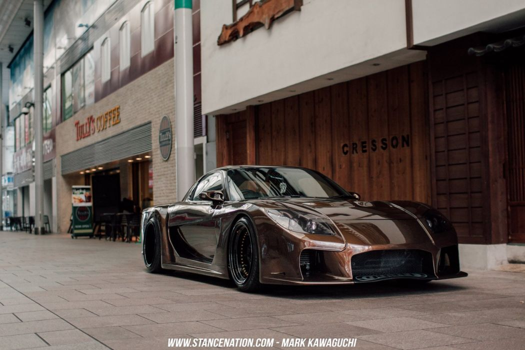 MAZDA RX-7 coupe cars modified wallpaper
