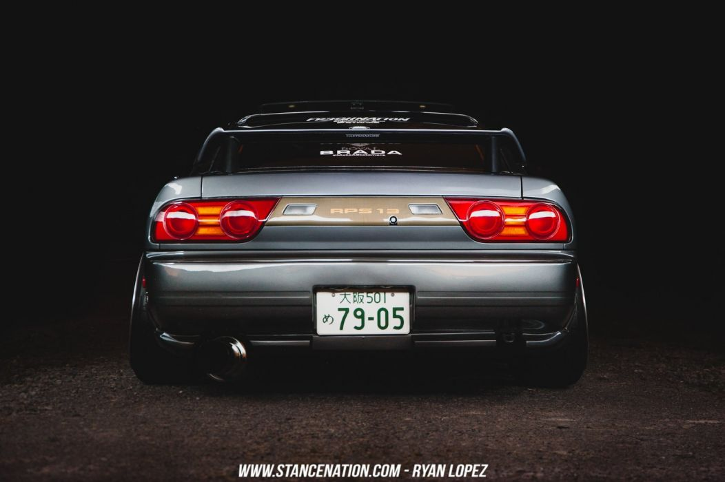 nissan 180SX coupe cars modified wallpaper