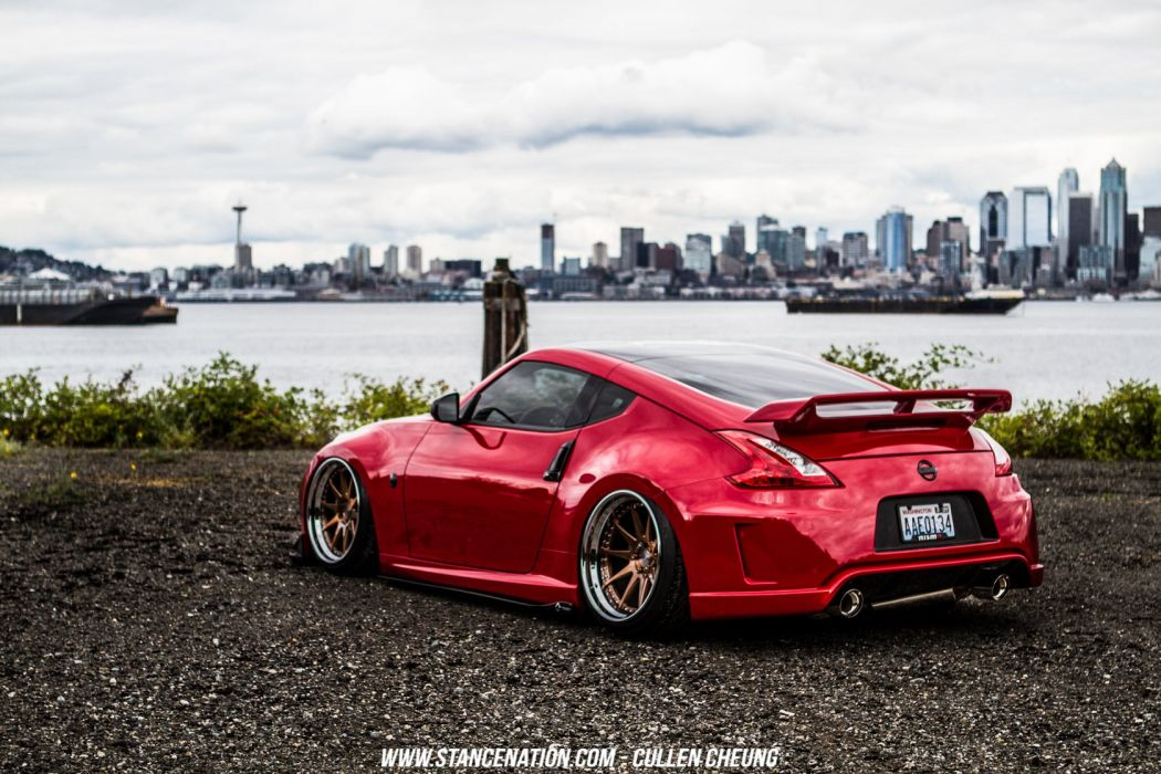 NISSAN 370Z coupe cars modified wallpaper