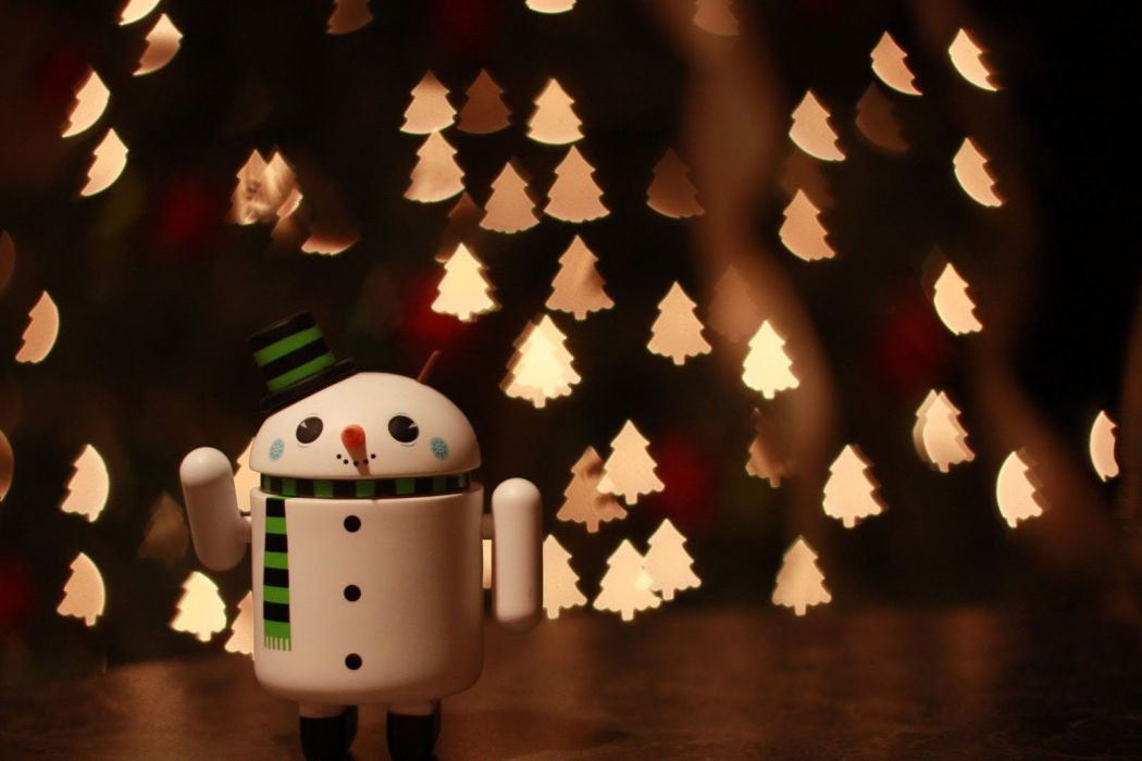 Christmas Android holiday lights christmas beauty wallpaper