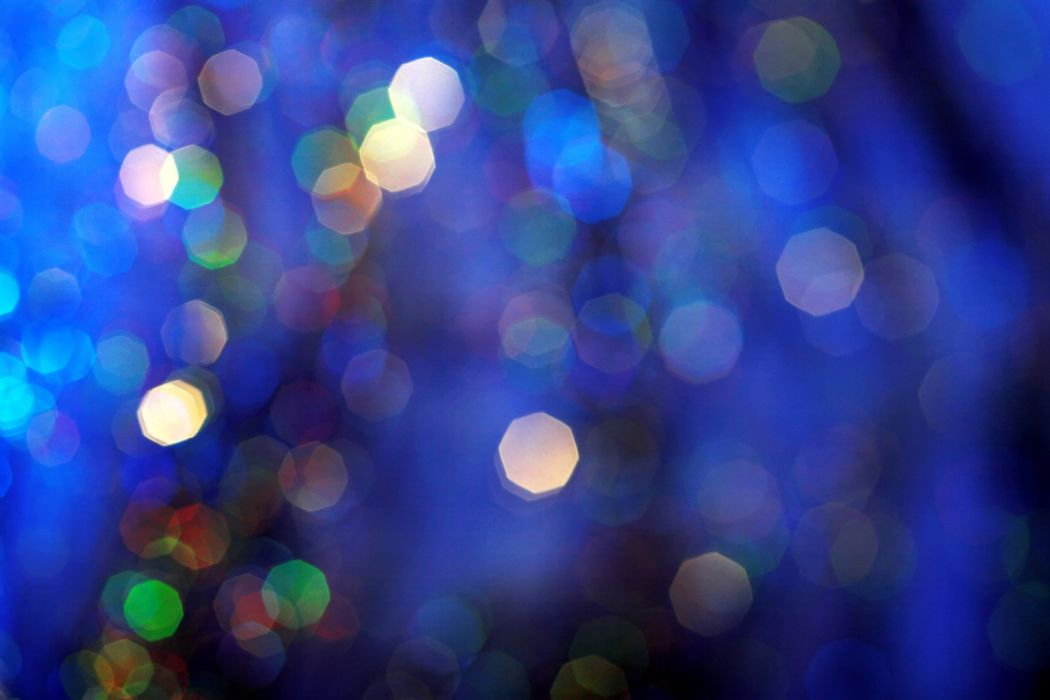 holiday lights christmas beauty blue wallpaper