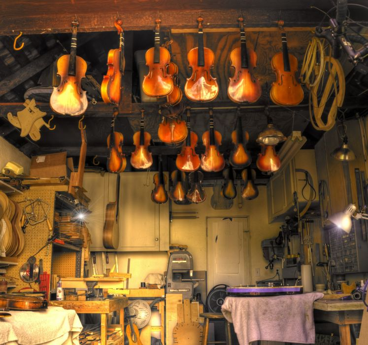 guitar violin musical instrument beauty shop wallpaper