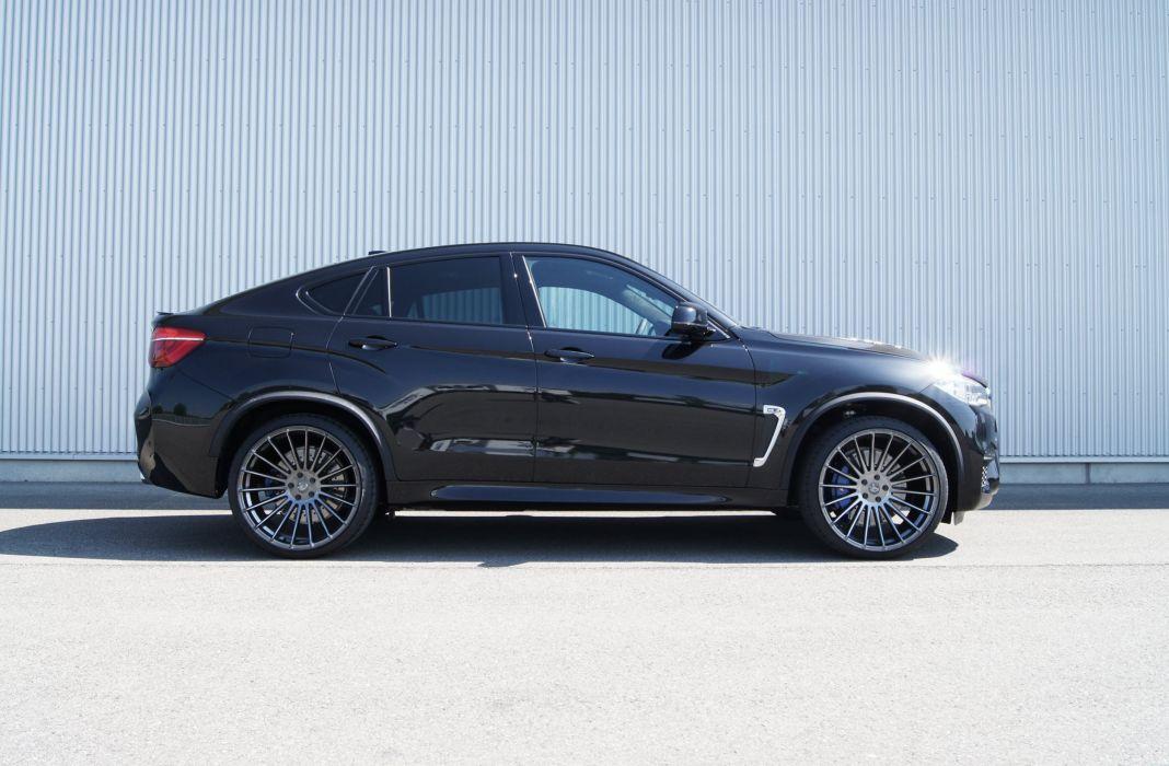 Hamann BMW X6 M (F16) cars black suv 2015 wallpaper