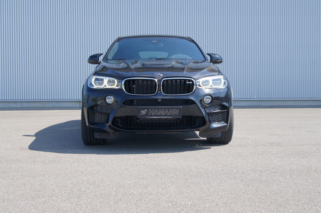 Hamann BMW X6 M (F16) cars black suv 2015 wallpaper
