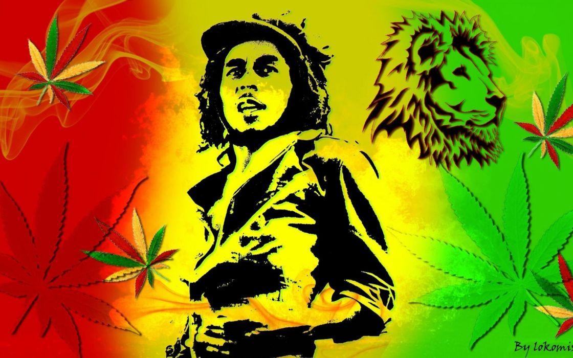 marijuana weed 420 drugs poster marley wallpaper