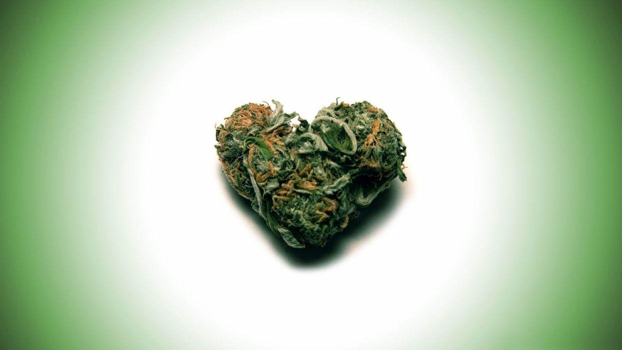 marijuana weed 420 drugs heart wallpaper