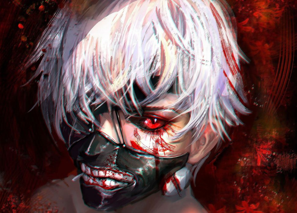 anime series character blood male tokyo wallpaper