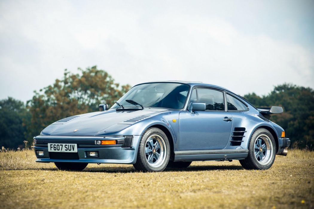 Porsche 930 Turbo Flatnose Coupe cars 1989 wallpaper