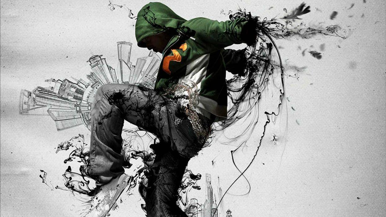 HIP HOP dance dancing music rap rapper urban pop wallpaper