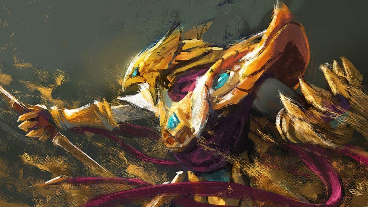 Azir Emperor Shurima League Of Legends Champions Wallpaper