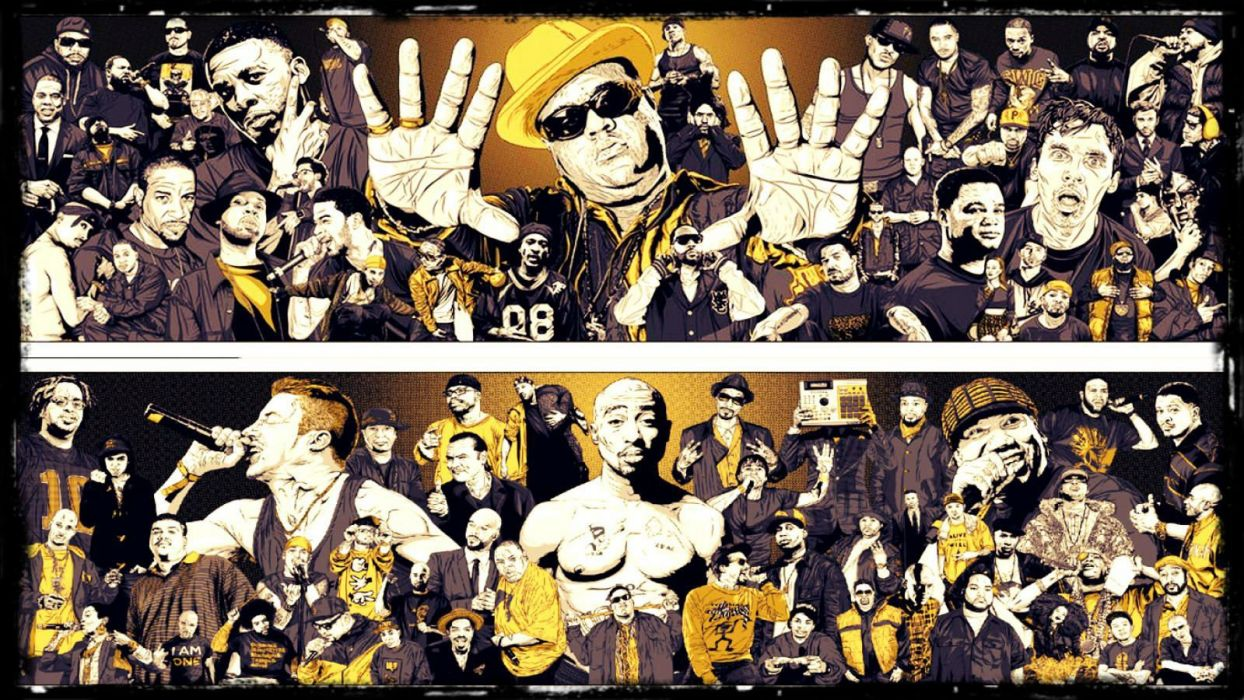 RAP rapper hip hop urban music gangsta wallpaper