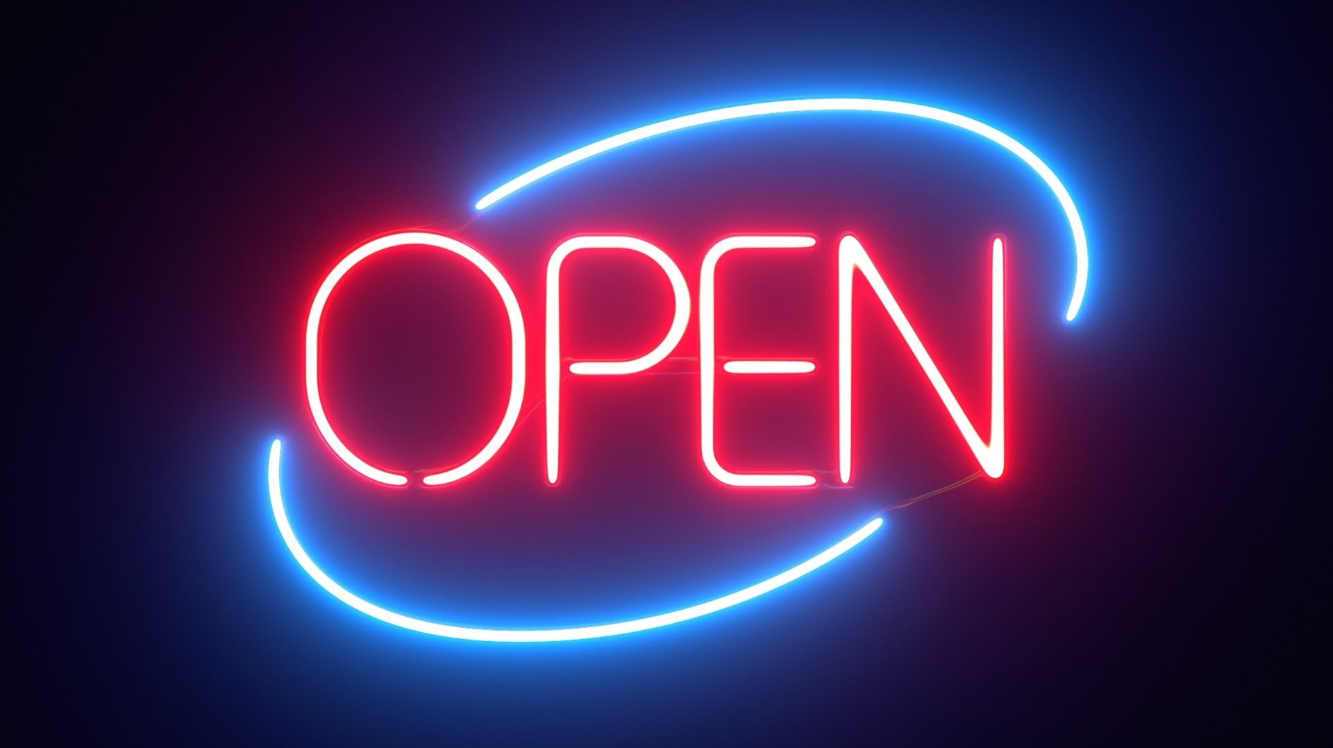 newon led open sign with digital business hours manual