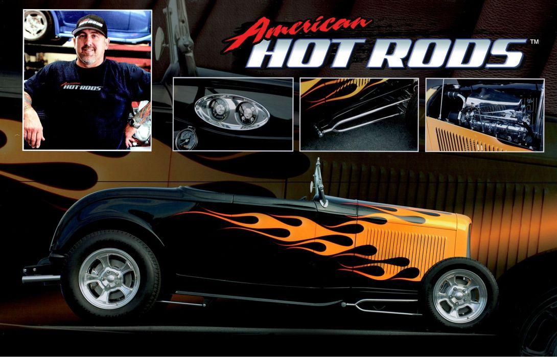 HOT ROD custom rods wallpaper