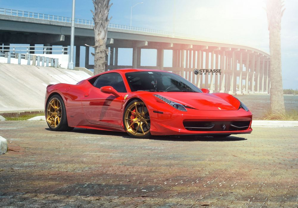 strasse Wheels Ferrari 458 Italia cars wallpaper