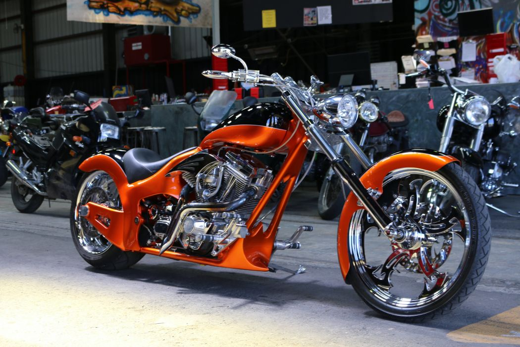 CHOPPER motorbike motorcycle bike hot rod rods custom wallpaper