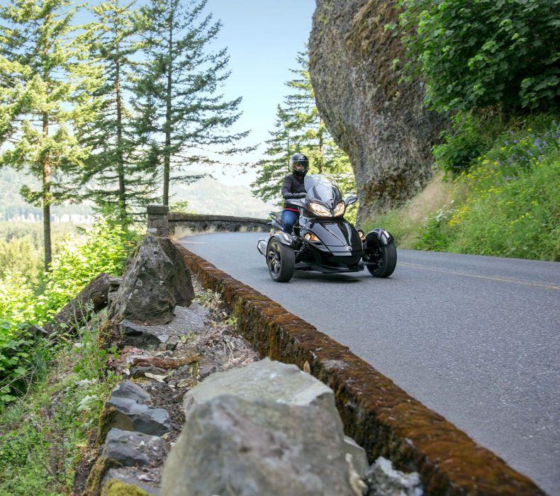 2016 Can-Am Spyder STS motorbike motorcycle bike e wallpaper