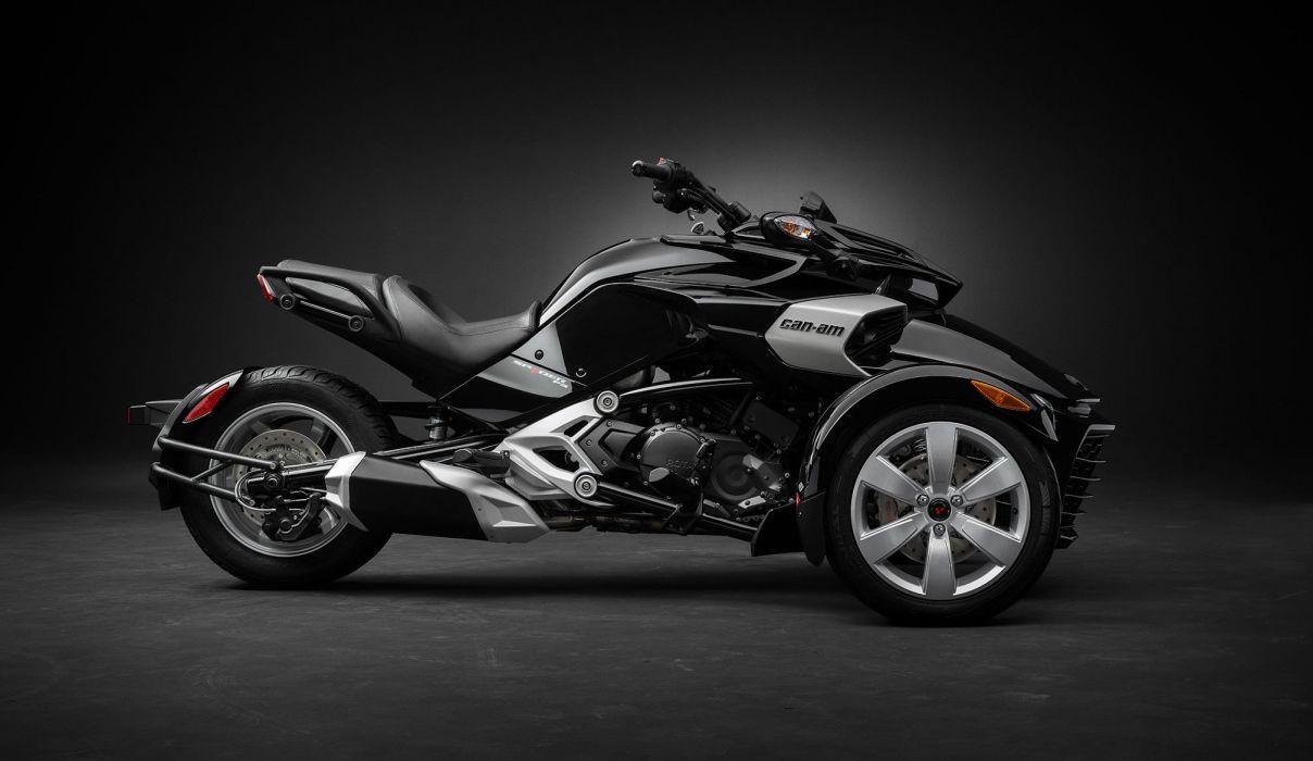 2016 Can-Am Spyder F-3 motorbike motorcycle bike e wallpaper