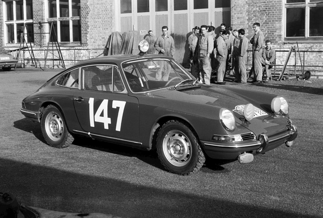 1965 Porsche 911 2-0 Coupe Monte 901 classic race racing wallpaper