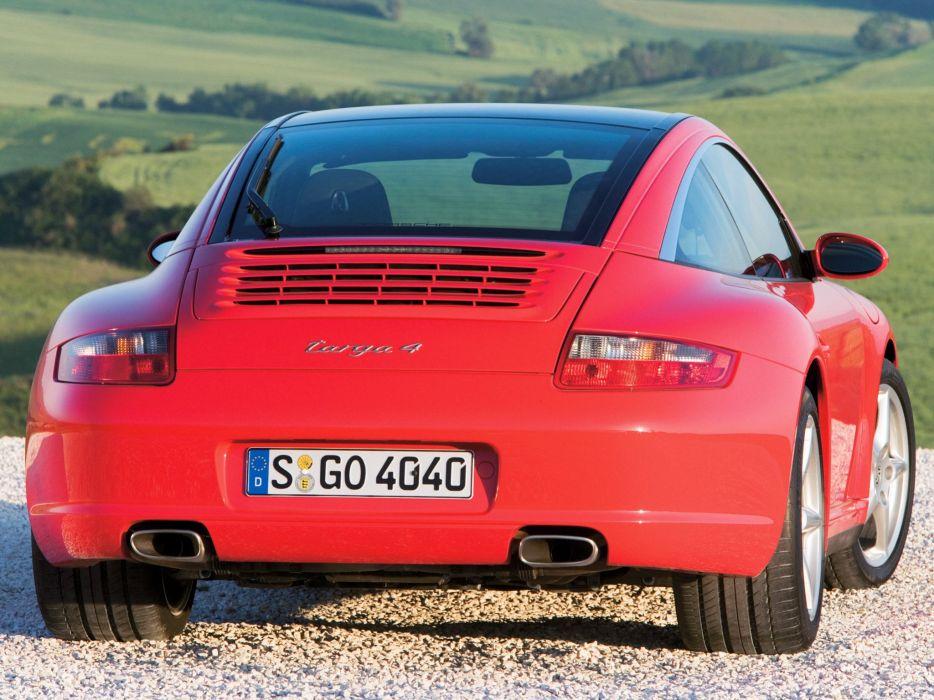 2005-08 Porsche 911 Targa 4 997 wallpaper