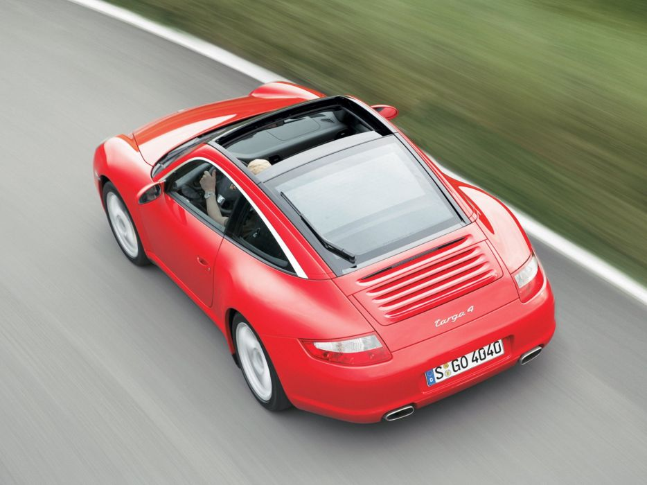 2005-08 Porsche 911 Targa 4 997 wallpaper