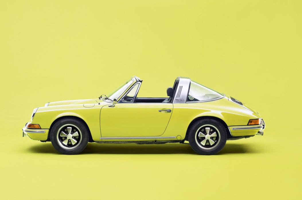 1971-73 Porsche 911 T 2-4 Targa 911 classic wallpaper