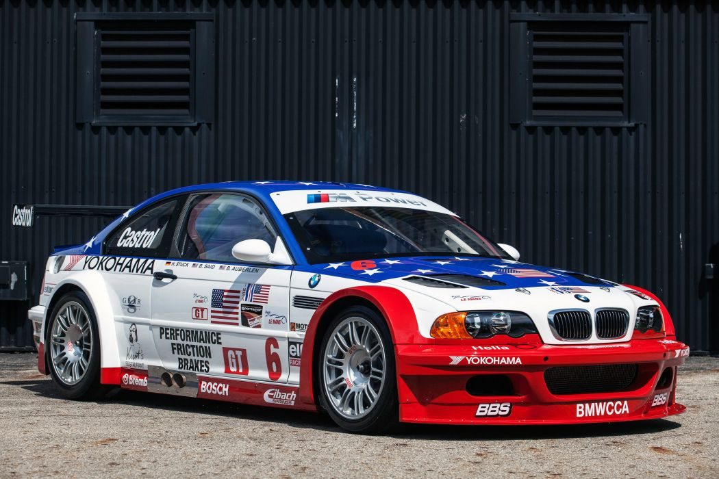 2001 BMW M-3 GTR ALMS E46 race racing wallpaper