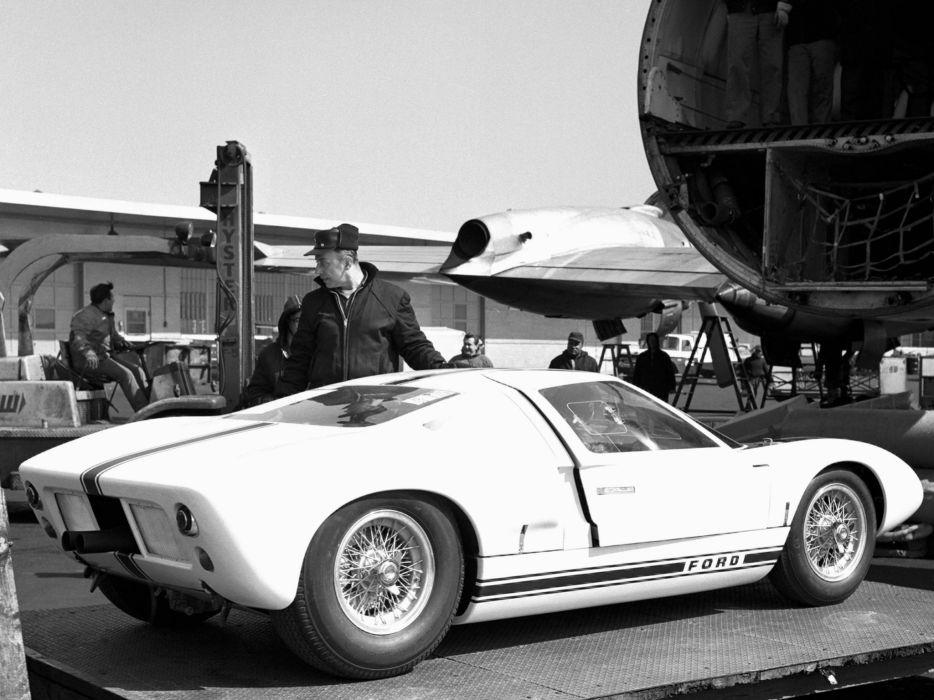 1964 Ford GT40 Concept GT101 supercar race racing classic wallpaper