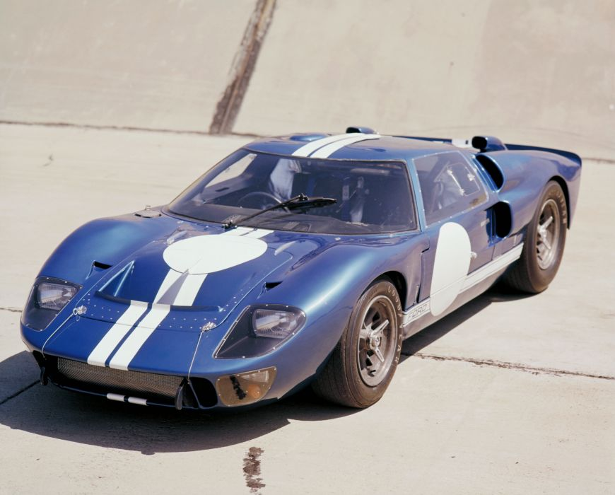 1966 Ford GT40 MkII supercar race racing wallpaper