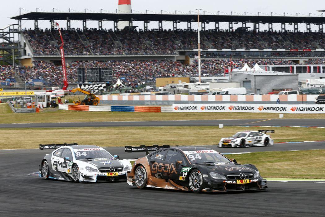 2015 Mercedes Benz C AMG DTM C204 race racing wallpaper