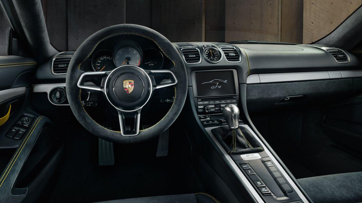 2016 Porsche Cayman GT4 981C wallpaper